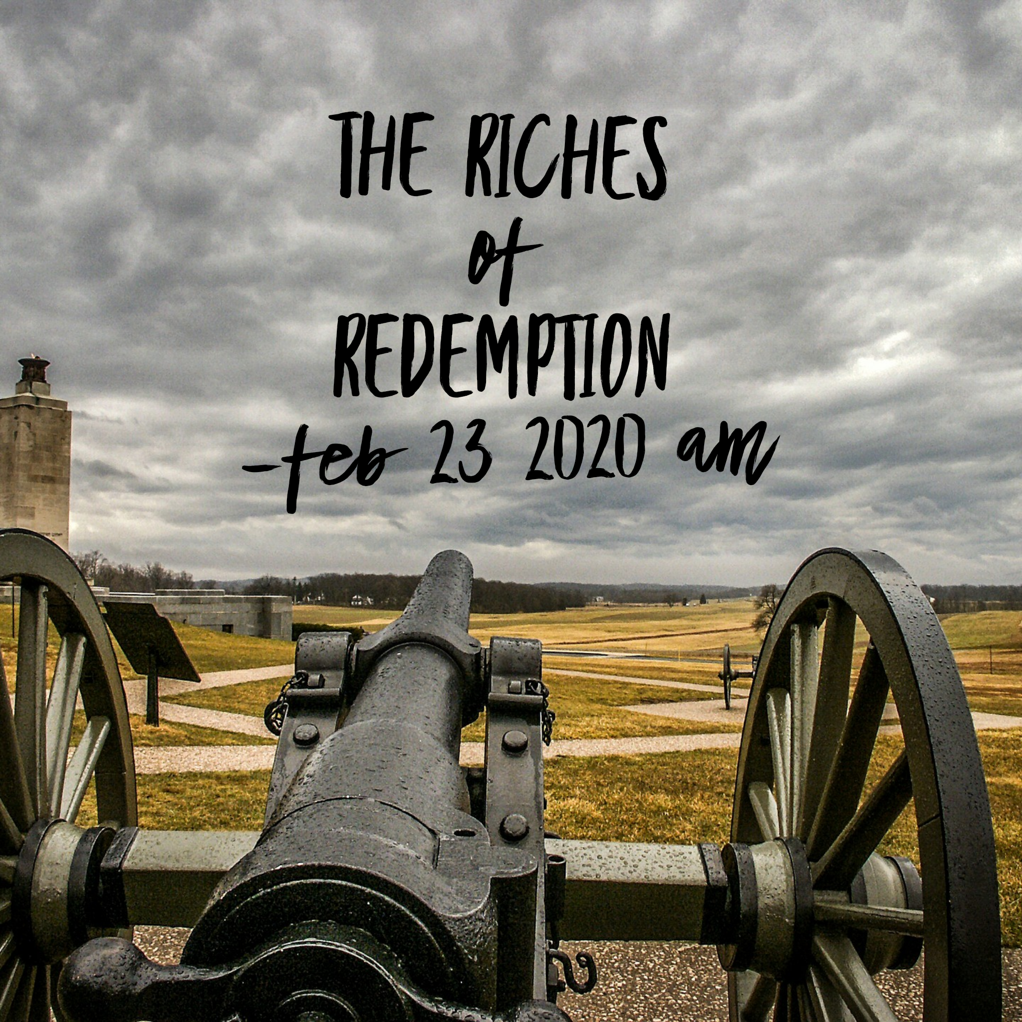 The Riches of Redemption